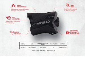 Halo XL 450 hunting rangefinder