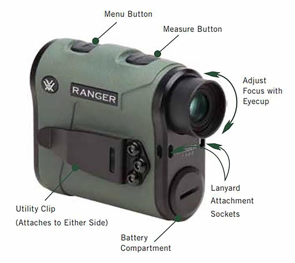Vortex Optics Ranger Laser Rangefinder1 reviews