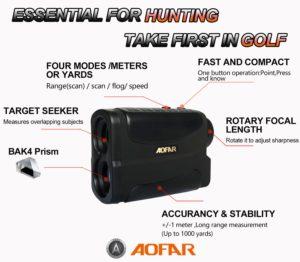 aofar hunting rangefinder best