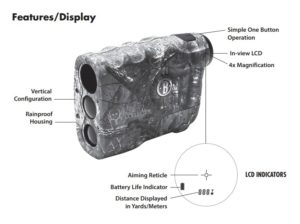 bushnell bone collector rangefinder feature